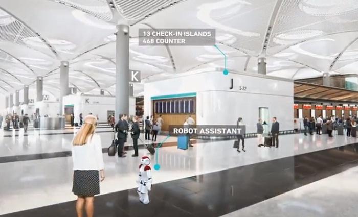 Пассажиров аэропорта будут обслуживать роботы («Стамбул», Турция).