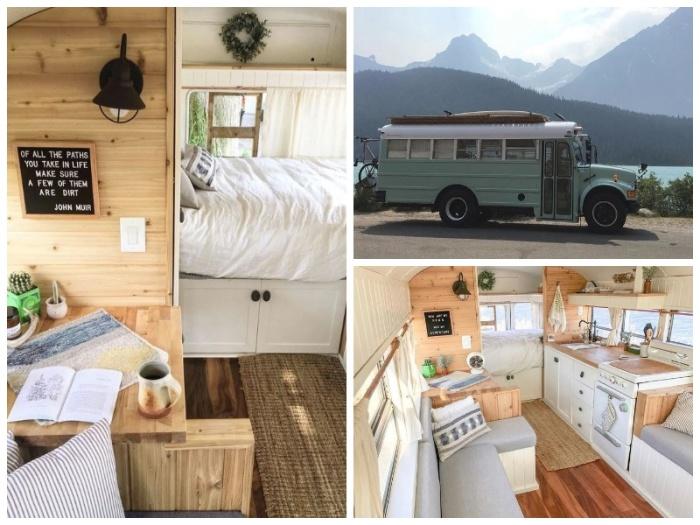 Автобус для путешествий обустроен полнофункциональной кухней, спальней и гостиной. | Фото: ntv.com.tr.