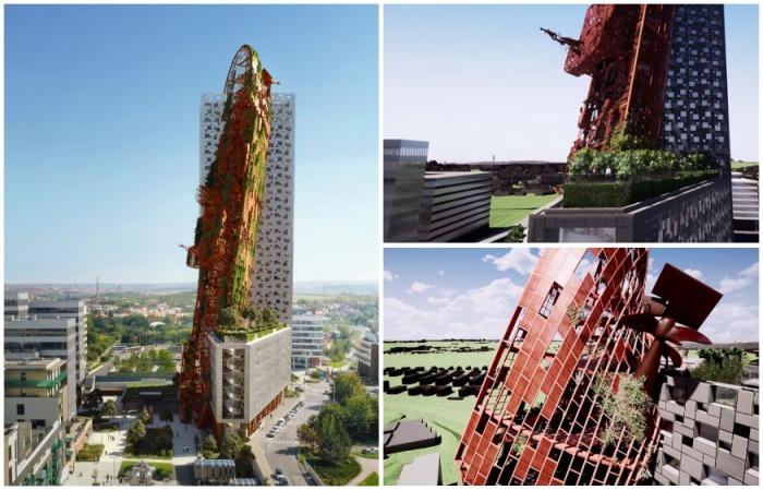 Визуализация Top Tower, Прага. | Фото: lifter.com.ua.