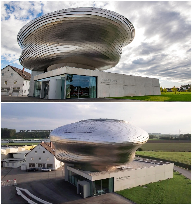 Информационный центр «Wunderkammer des Brotes» был создан для компании Backaldrin (Астен, Австрия). | Фото: coop-himmelblau.at/ parametric-architecture.com.
