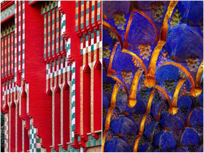 Отличительная черта Casa Vicens – богатый декор и особая нарядность всего особняка. | Фото: archidea.com.ua/ David Cardelus.