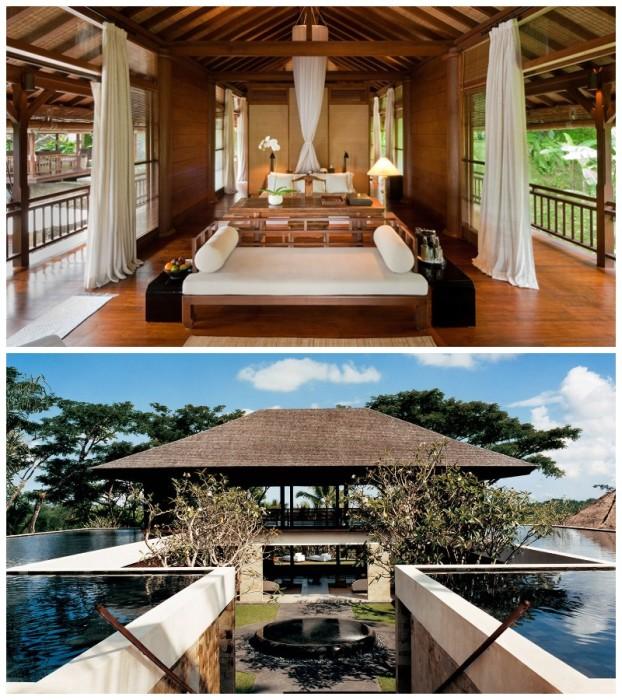 Открытые террасы и рестораны среди воды сделают отдых незабываемым (COMO Sambala Estate, Бали). | Фото: comohotels.com.