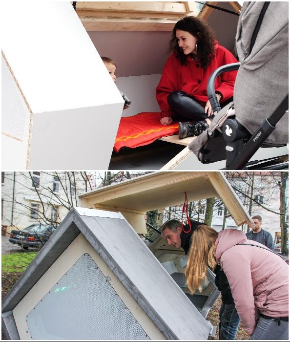 Пилотный проект вызвал общественный резонанс (Ulmer Nester, Германия).