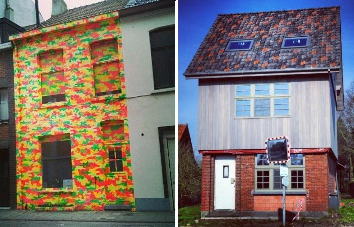 Яркий протест против градостроительных правил и норм («Ugly Belgian Houses»). | Фото: forum.watmm.com.