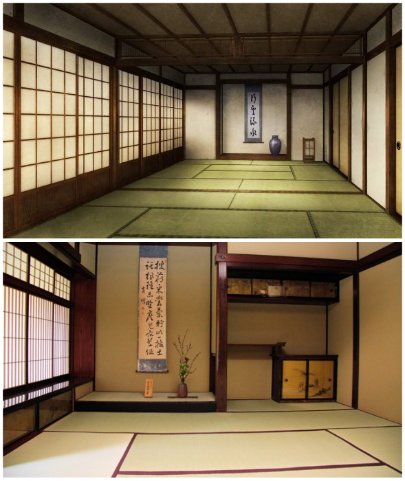 Татами – традиционное напольное покрытие в японских домах.