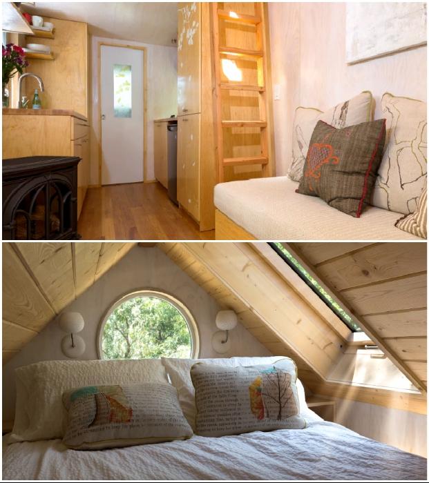 Натуральность и максимальный комфорт по доступной цене (крошечный летний домик Sol Haus). © Vina Lustado.