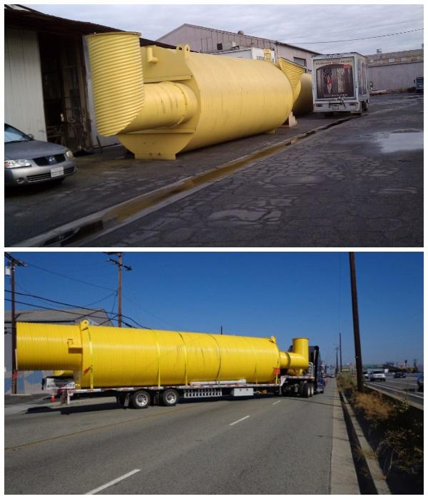 Оболочку конструкции создают на заводе и доставляют заказчику домой (Подземный бункер-труба Atlas).
