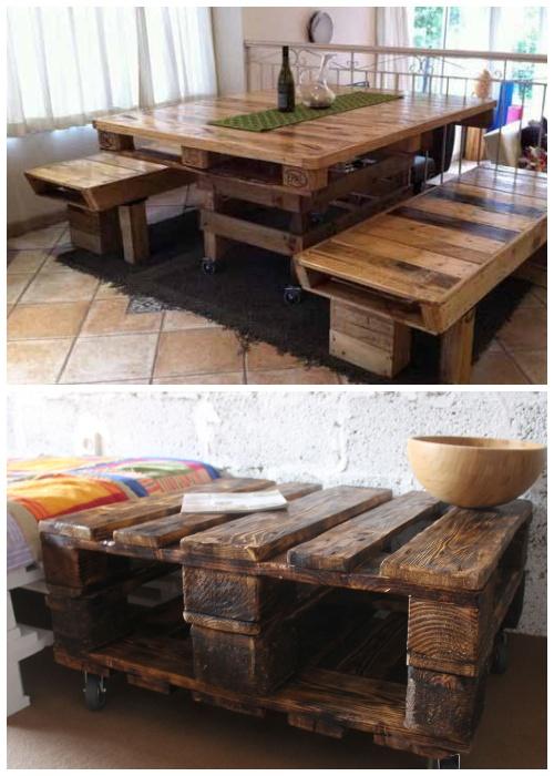 Вскрытые лаком или морилкой столы более долговечны и безопасны.