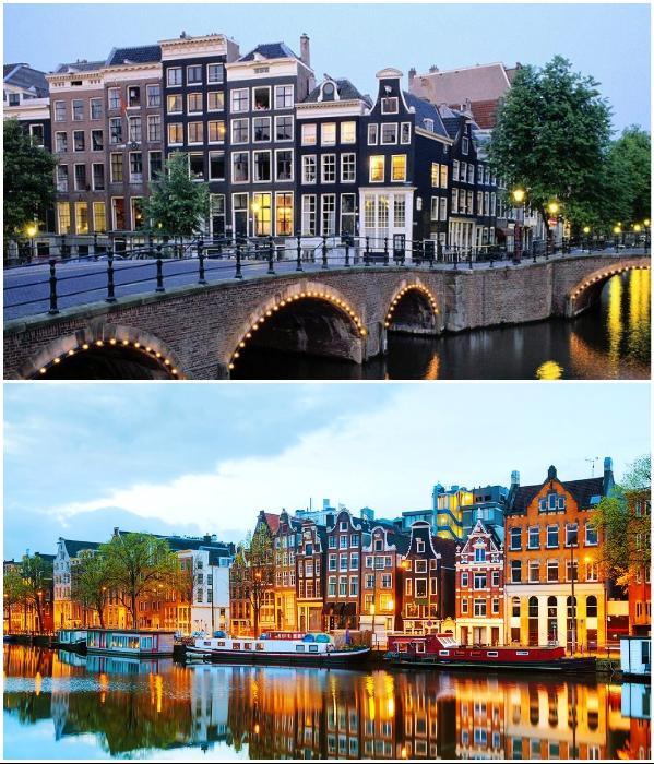 Считается, что жить в Амстердаме очень круто. | Фото: hogen-mogen.ru/ alliance.ua.