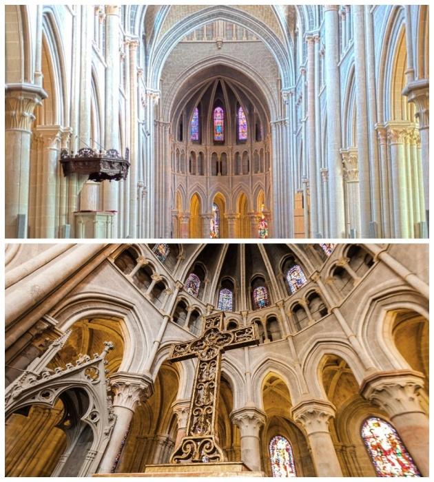 Средневековая мозаика, сохранившаяся до наших дней, «олицетворяет собой весь мир» (Лозаннский кафедральный собор, Швейцария). | Фото: eurokurort.by.