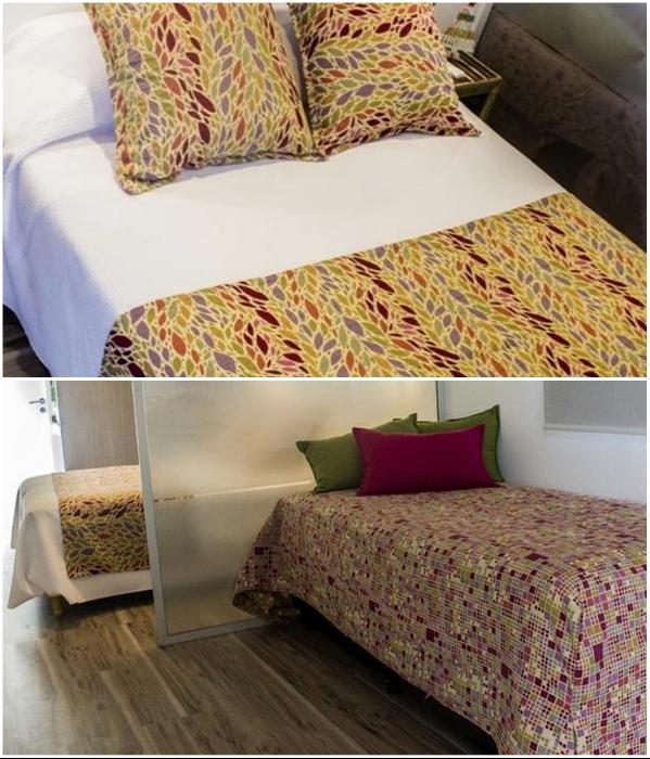 В каждом контейнерном номере организованы спальные места для 4 посетителей («CasArtero Eco Posada», Аргентина). | Фото: containerhacker.com.