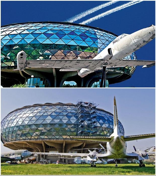 Исторический музей воздухоплавания находится в столице Сербии – Белграде.