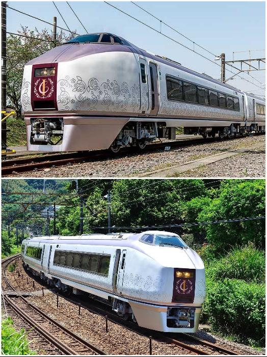 «Izu Craile» – один из самых красивых и элегантных туристических поездов Японии. | Фото: toretabi.jp/ trafficnews.jp.