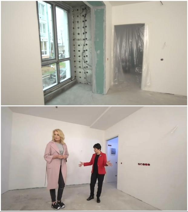 Квартира-студия с предчистовой отделкой была приобретена в живописном районе Новая Москва. © Красный квадрат.