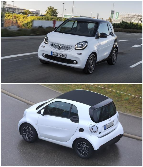 Электрокар Smart EQ тоже участвует в программе субсидирования. | Фото: drive.ru.
