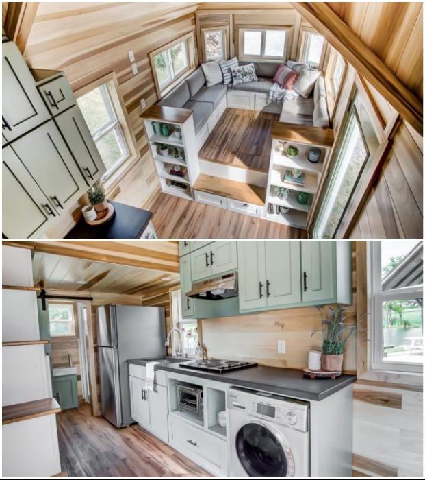 Современный благоустроенный домик Clover пригоден для круглогодичного проживания (Испания). © Modern Tiny Living