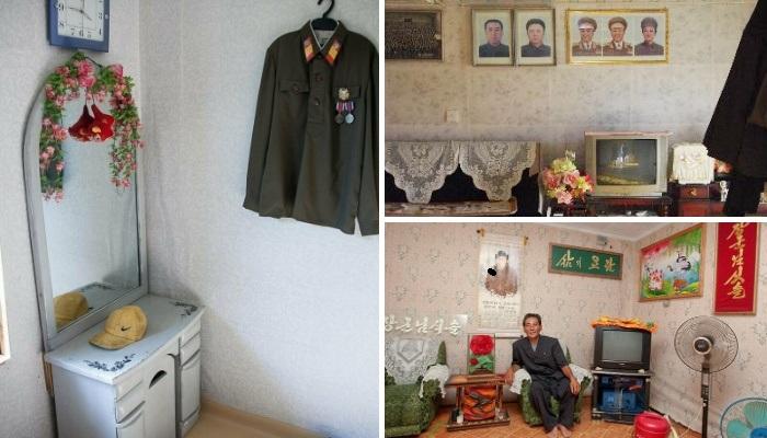Эти фото больше напоминают квартиры наших бабушек и дедушек, а они сделаны в Северной Корее. | Фото: blog.daum.net.