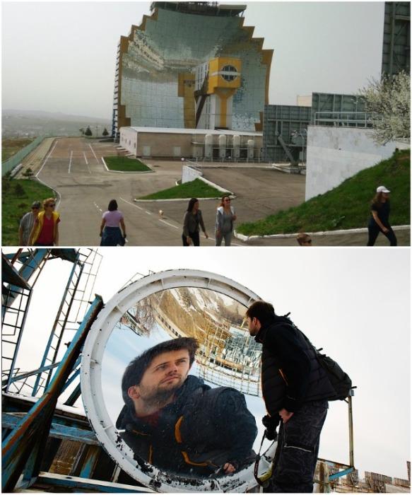 В последнее время гелиокомплекс «Солнце» стал популярным туристическим объектом (Узбекистан). | Фото: victorborisov.livejournal.com.