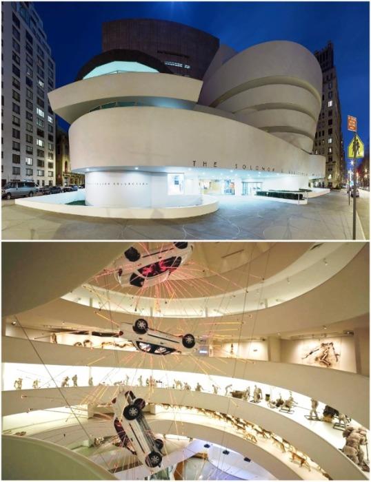 Guggenheim Museum второе по значимости сооружение в США после Статуи Свободы. | Фото: artguide.com.
