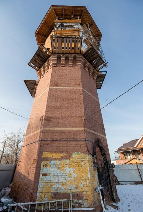 Водонапорная башня в Томске была выставлена на торги.