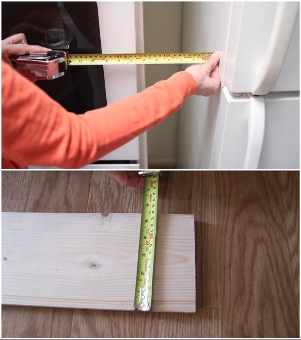 Перед началом работы нужно тщательно рассчитать и определиться с материалом. | Фото: youtube.com © EngineerYourSpace.
