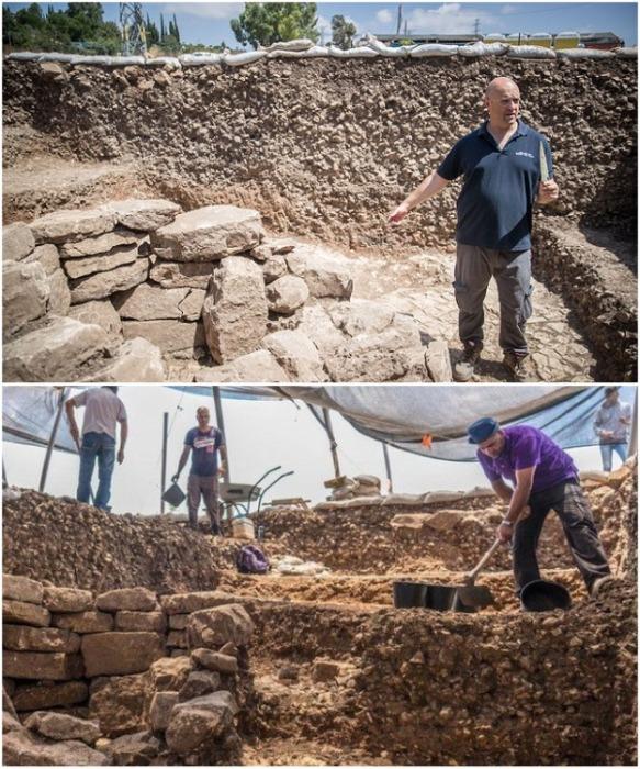 Управление древностей в окрестностях поселка Motza обнаружило древнее поселение, которому более 10 тыс. лет (Израиль). | Фото: newsyou.info.