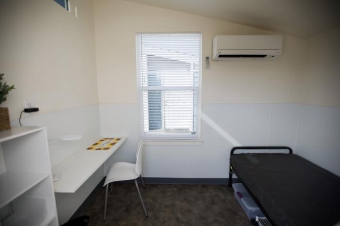 В мини-апартаментах будет одна благоустроенная жилая комната площадью 7 кв.м. («Bridge Housing Community», Сан-Хосе). | Фото: sfw.so.