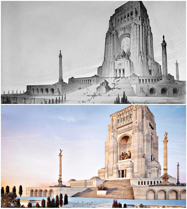 Уильям Кларк Ноубл создал проект, которому не суждено было воплотиться (Mother's Memorial).