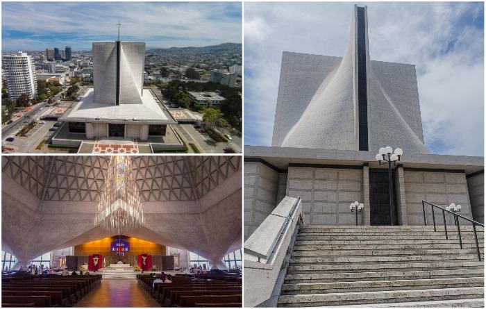 Кафедральный собор Успения Святой Марии стал главной архитектурной достопримечательностью Сан-Франциско. | Фото: toshaleb.livejournal.com/ lifeglobe.net.