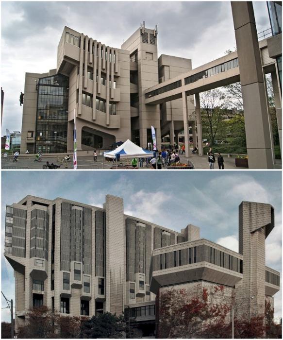 Непонятый брутализм в послевоенной архитектуре. | Фото: artishock.org.