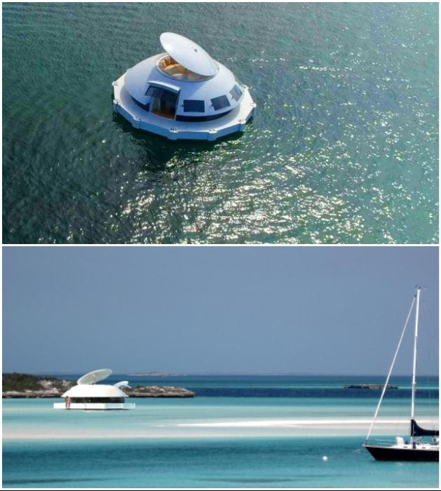 Плавучий дом «Anthenea» – идеальное место для самоизоляции. | Фото: design.fanpage.it/ agilitypr.news.