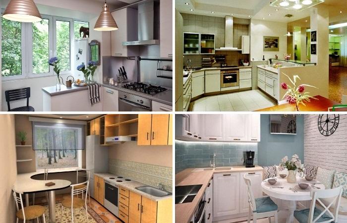 Правильное обустройство маленькой кухни позволит превратить ее в красивую суперфункциональную зону. | Фото: pinterest.com.