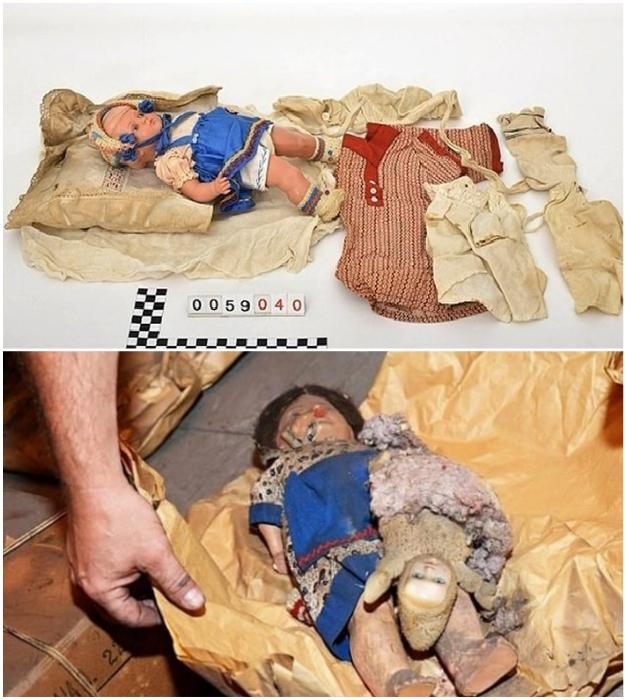 Такие детские игрушки были очень большой редкостью в те времена.