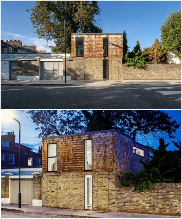 Оригинальное оформление нового фасада дома со стороны улицы (Gouse, Лондон). | Фото: disenoyucatan.com.