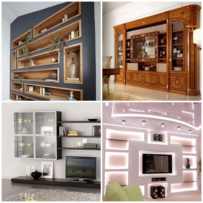 Для изготовления мебели используют различные материалы.