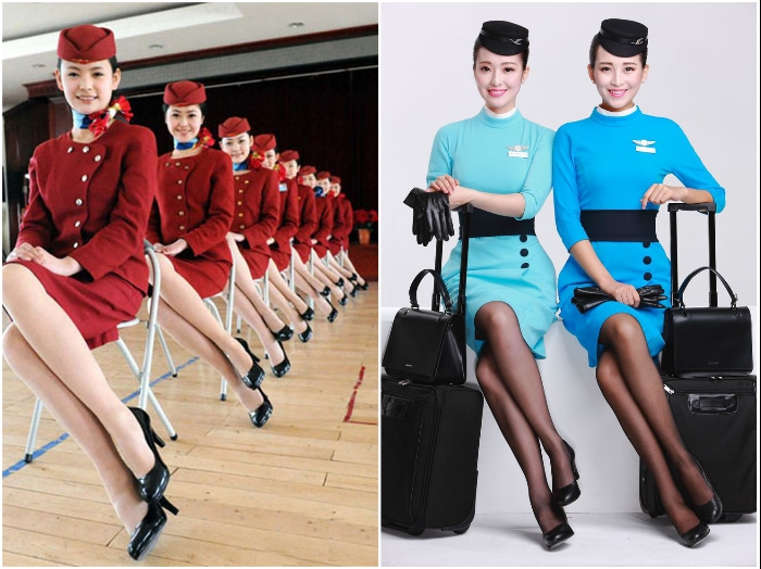 Только лучшие из лучших смогут надеть настоящую униформу стюардесс и будут сопровождать авиарейсы. | Фото: spletnik.ru/ pinterest.ru.