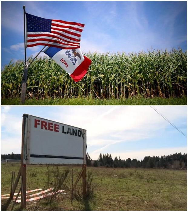 В 6 штатах землю под строительство частного дома раздают даром всем желающим (США).
