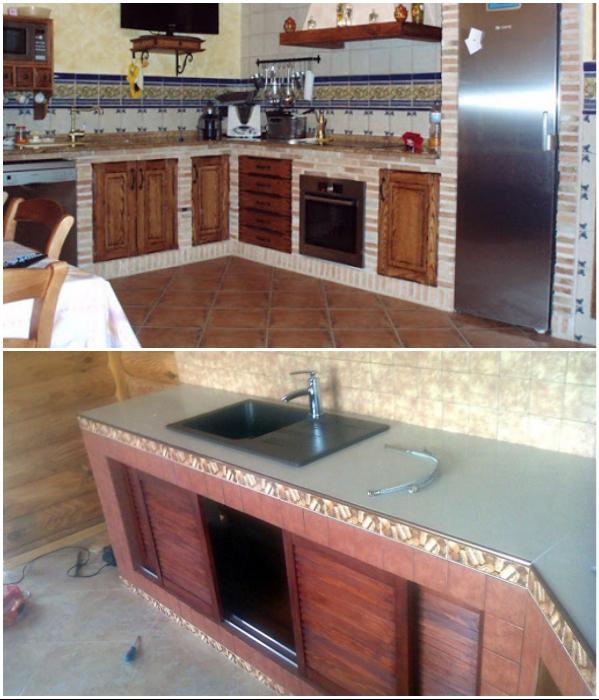 Дверцы могут быть купейного или распашного типа, неплохо подойдут и выдвижные ящики.   Фото: pinterest.com/ forumhouse.ru.