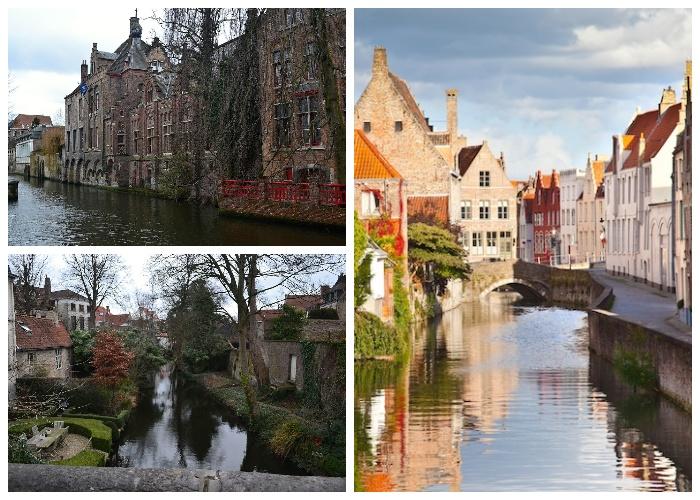 Историю Брюгге можно изучать по сохранившимся памятникам архитектуры еще со средних веков (Бельгия).