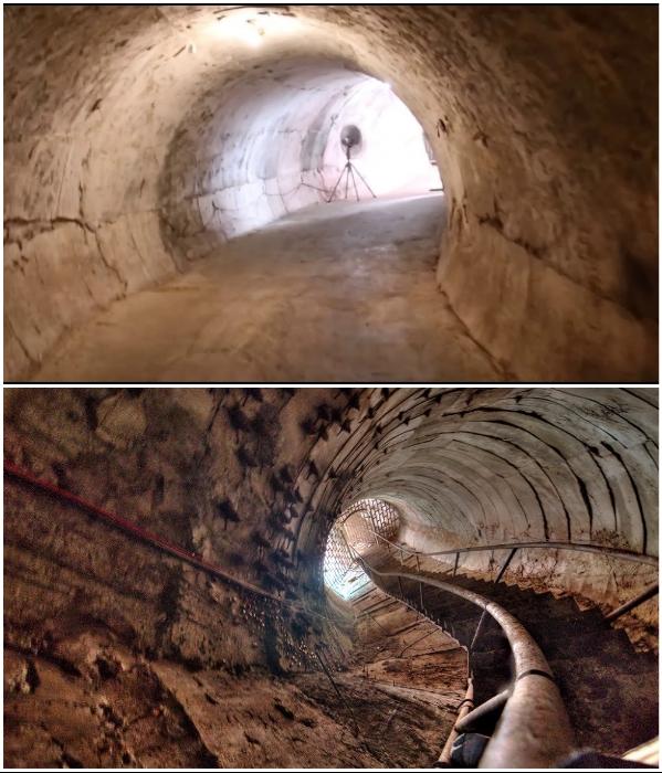 Внутри 300-метрового дракона есть подъем на открытую террасу башни. | Фото: patricklepetit.jalbum.net/ atlasobscura.com.