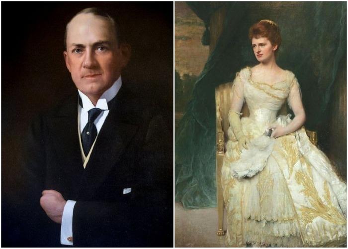Роберт Ливингстон Бикман и Эмили Торн Вандербильд Слоун Уайт – первые владельцы особняка.