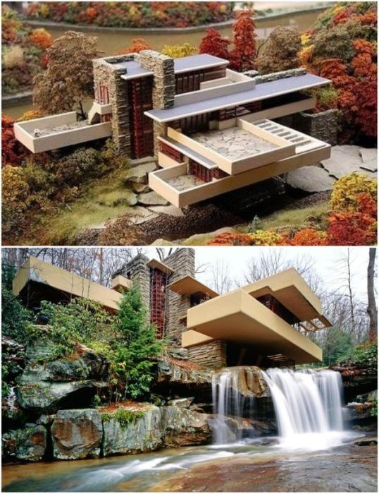 Сталь и бетон стали великолепными элементами, которые породили «органическую архитектуру» ХХ столетия. | Фото: happymodern.ru.