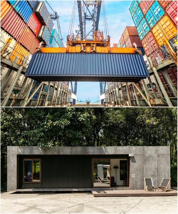 Мексиканцы создали автономный контейнерный дом VMD. | Фото: newatlas.com/ © Helioz Studio.