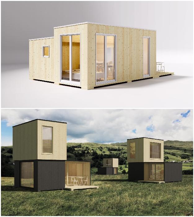 Модели, предназначенные для размещения в городской среде (Brette Haus).