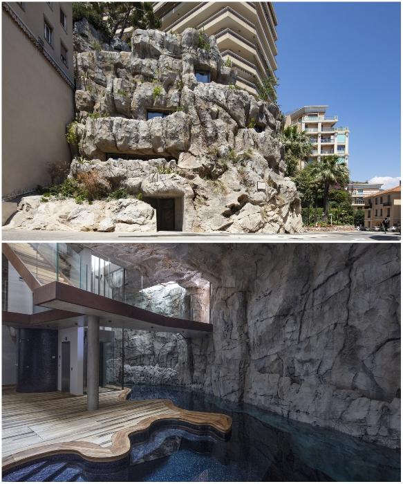 Villa Troglodyte в Монако – самый неординарный реализованный архитектурный проект 2019 г. и не только. | Фото: newatlas.com.