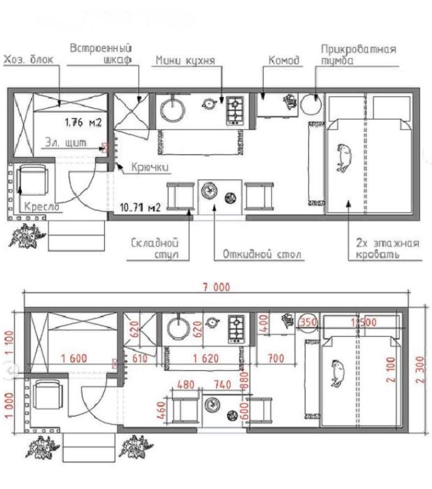 Детальный план-чертеж и 3D модель помогли мастерам создать домик, который хотели иметь заказчики. © ШИШКИН.