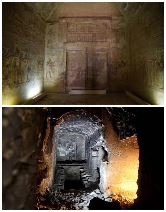 Саркофаг могилы древнеегипетского бога загробного мира – Осириса (Остров Агилкия, Египет).