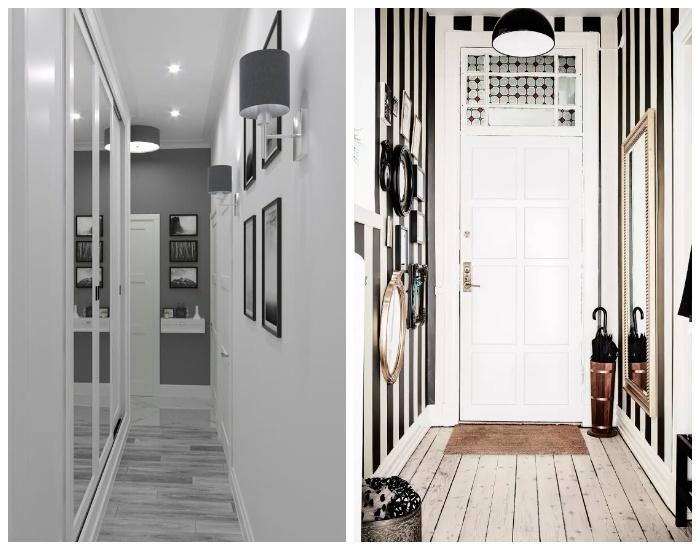 Если оформить площади белым цветом, то можно добавить контрастных цветов в декоре. | Фото: pinterest.com.