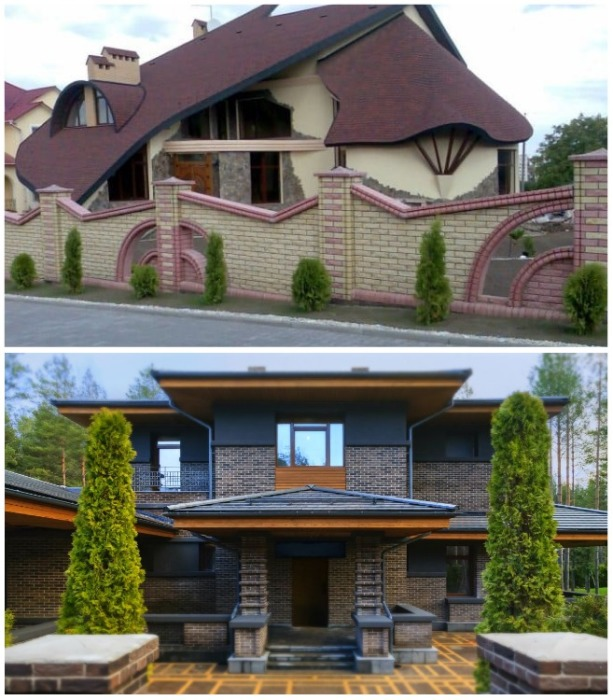 Неординарные и благоустроенные дома привлекают практичных дев. | Фото: prud-ekb.ru.