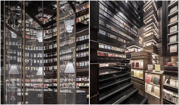 Взгляд в подобное «Зазеркалье» производит неизгладимое впечатление (Zhongshuge Bookstore, Ningbo). ¦ Фото: thecoolhunter.net/ architizer.com
